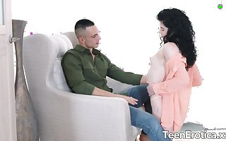 Anal Delights with Teen Babe Black Angel