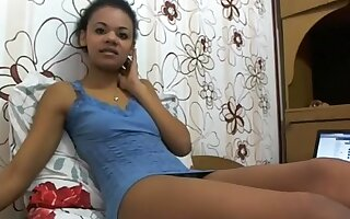 Ebony petite webcamgirl Misskapryzz