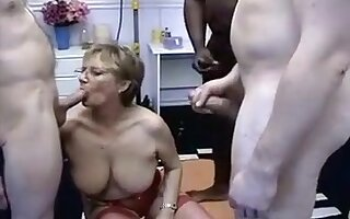 Incredible Amateur record with Black, Doggy Style scenes