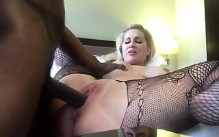 Black Interracial Lingerie Leather Sex Hardcore