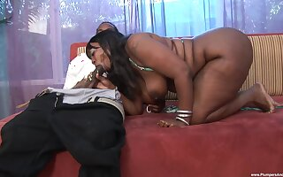 Obese ass ebony factory the BBC close to extreme XXX scenes
