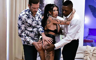Megan Inky: Innovative DP, DAP, Creampies