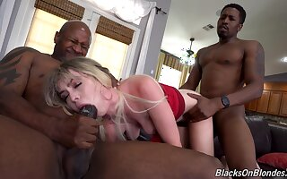 Black men less fucks blonde non-professional until she by fits moaning for cum