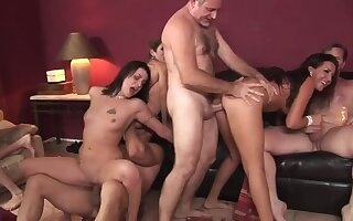 Lacey Luv &  Richelle Ryan &  Leah Luv &  Felony & in Orgy Sex Parties #2